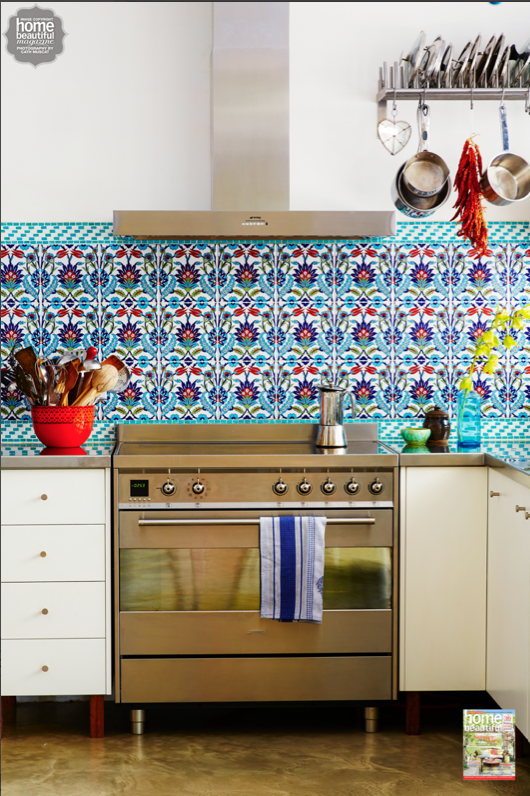 Poh Ling Yeow S Colourful Turkish Tiled Kitchen Looks Like A