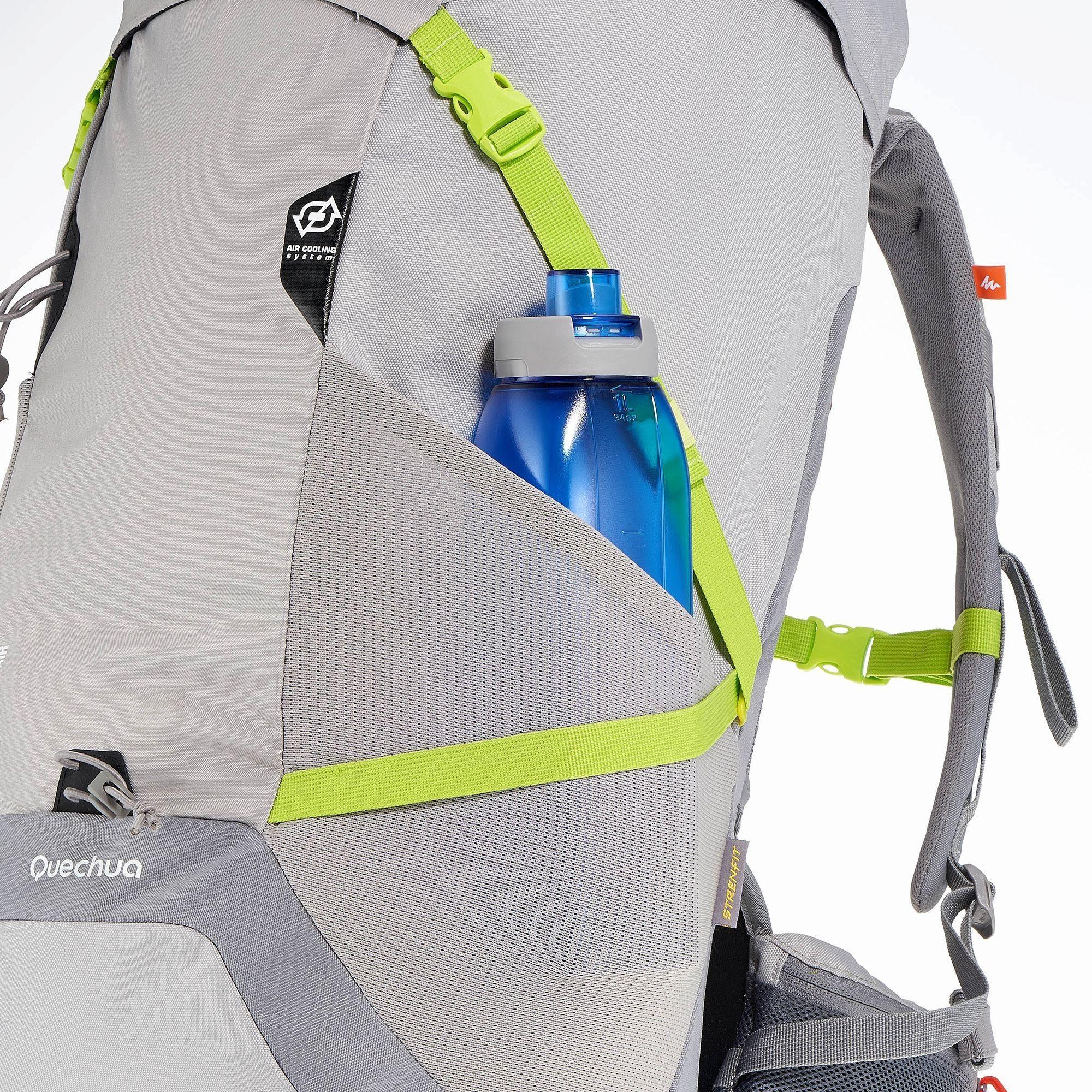 sac a dos f 40 air gris vert quechua sacs dos randonn e decathlon backpack pinterest. Black Bedroom Furniture Sets. Home Design Ideas