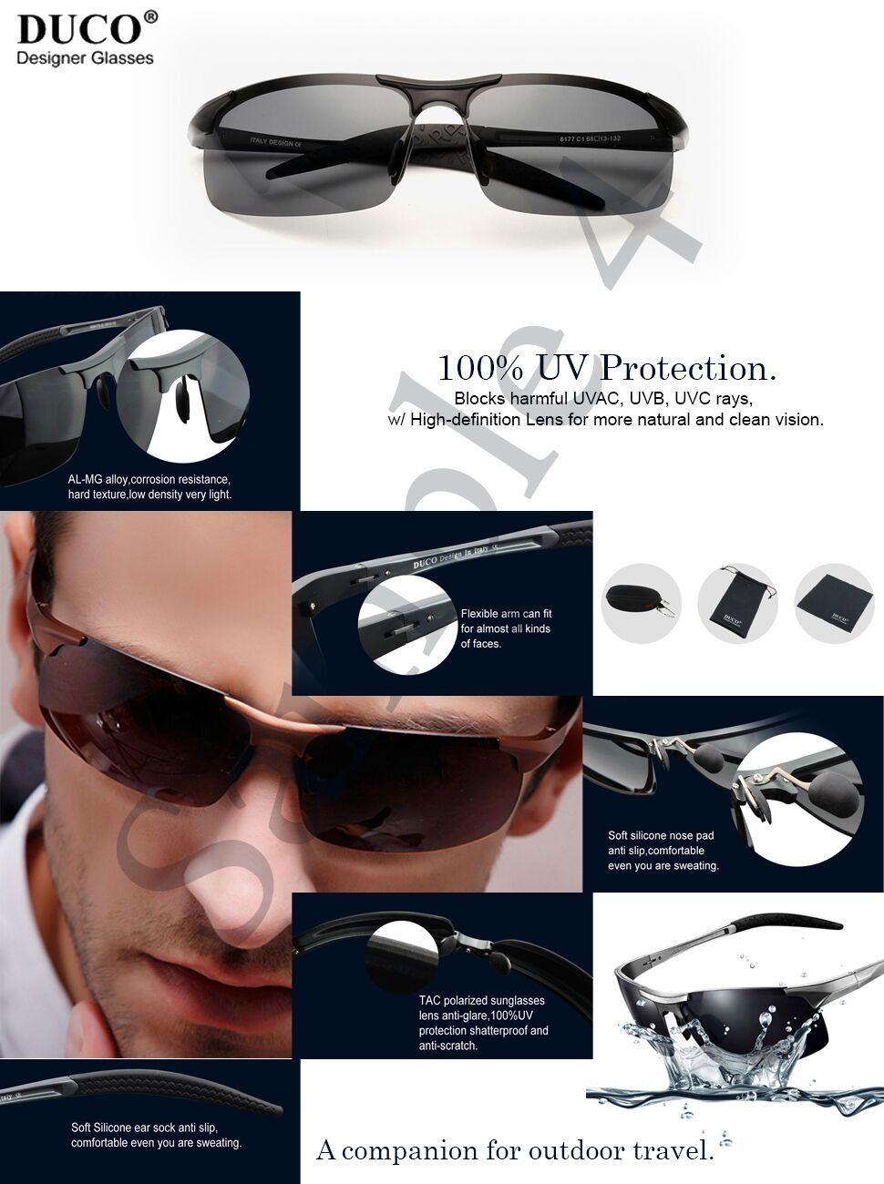 Scaling Sunglasses Unisex Clip-on Frameless Ultra Light Night Vision Radiation UV Protection Polarized Eyewear