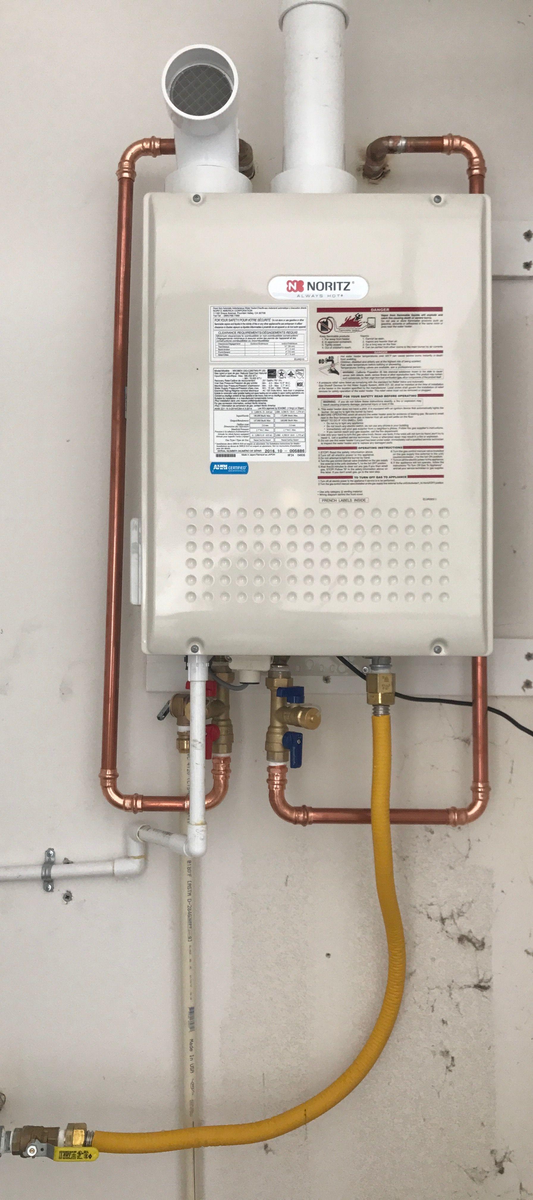 medium resolution of noritz tankless water heater