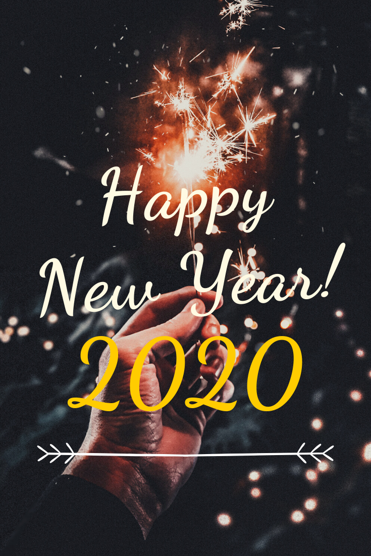 Happy New Year! 2020 #happynewyear2020quotes