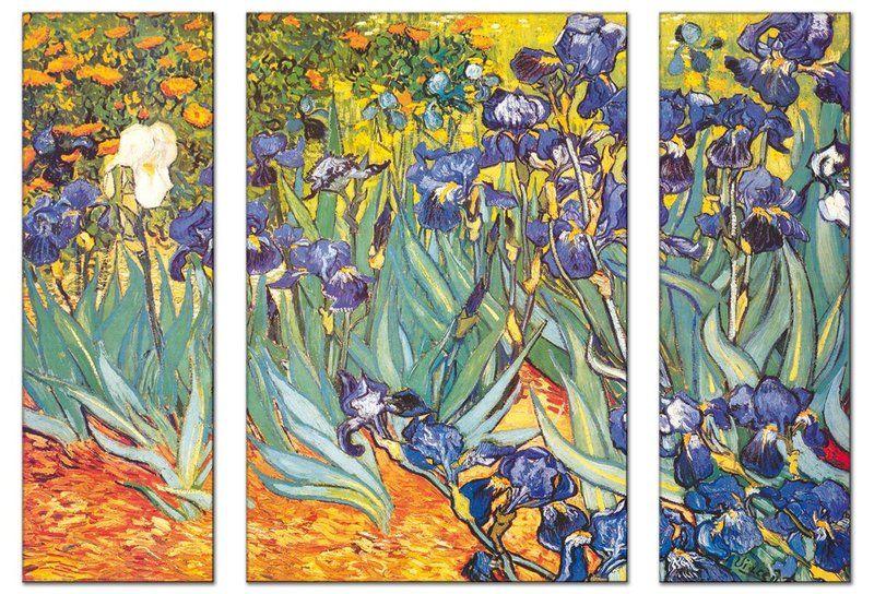Los Zapatos Ded Van Gogh Los Lirios De Van Gogh Version Triptico