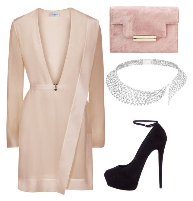 """Untitled #616"" by madelin-ruby ❤ liked on Polyvore featuring Giuseppe Zanotti and Messika"