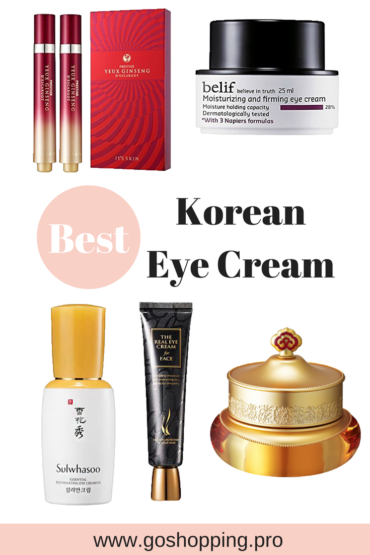 The 5 Best Korean Eye Creams You Should Have A Try In 2018 Go Shopping Korean Eye Cream Best Korean Eye Cream Best Eye Cream