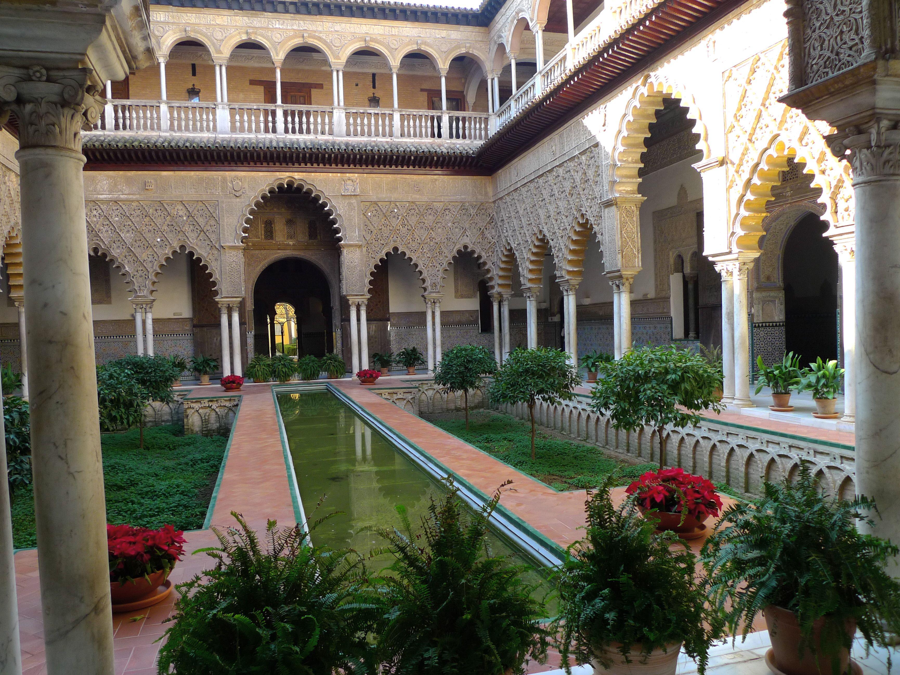 Palacio Alcazar de Sevilla, España Alcazar de sevilla