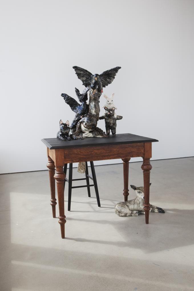 Klara Kristalova, När förnuftet sover (efter Goya), 2012