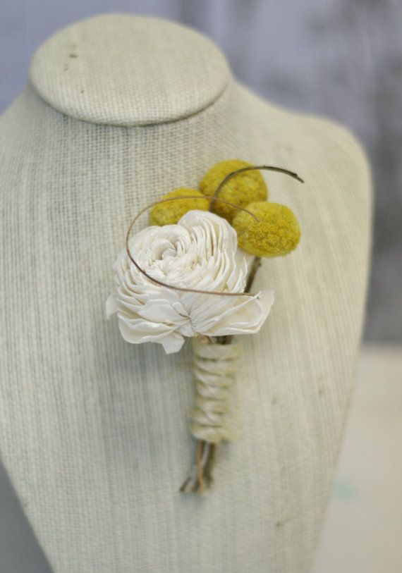 homemade boutonniere $20