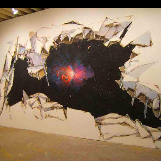 Cool Wall Painting Artsy Pinterest Walls