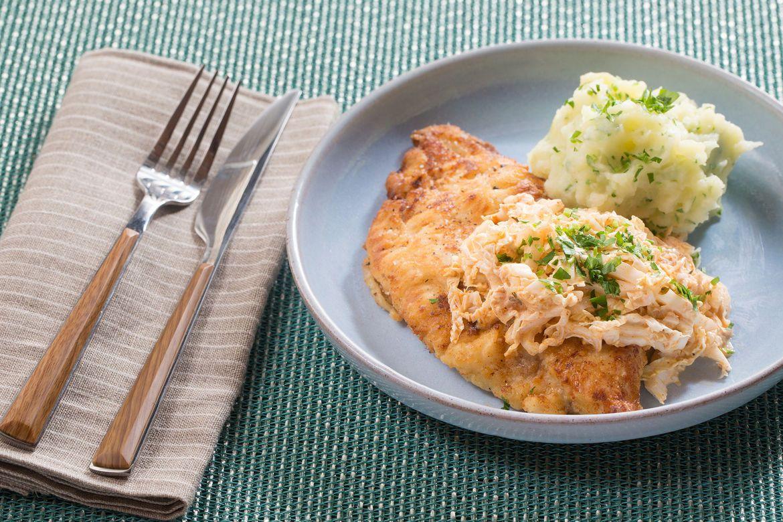 Blue apron yuzu kosho - Crispy Catfish Parsley Mashed Potatoes With Spicy Cajun Slaw