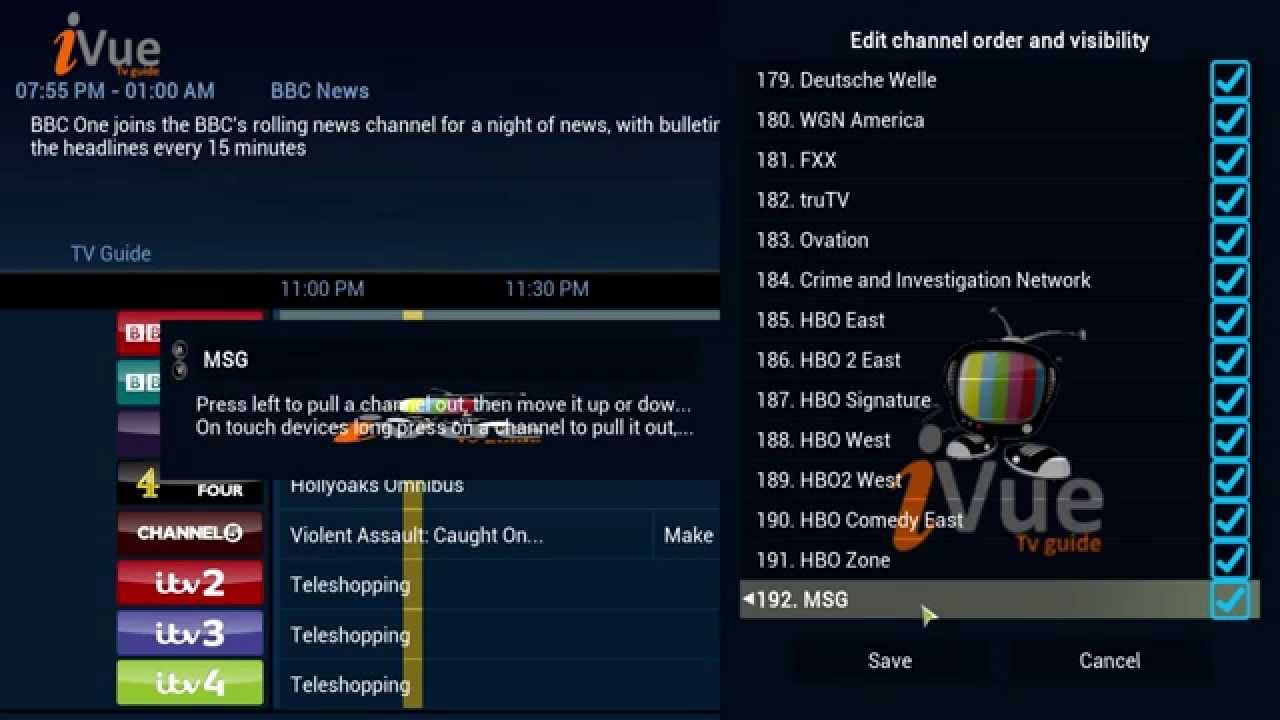 xbmc kodi the best live tv add on live tv guide setup rh pinterest com XBMC Tutorial TV Channels XBMC