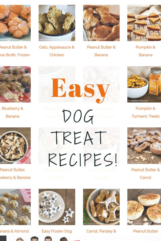 Easy Dog Treat Recipes You Ll Both Love Easy Dog Treat Recipes Easy Dog Treats Healthy Dog Treats Homemade