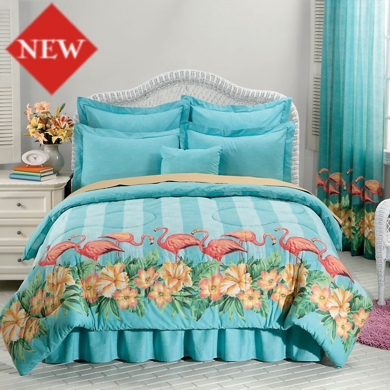 Brighton Coral Reversible Quilt Set Quilt sets, Coastal