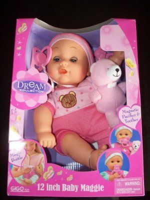 Dream Collection 12 Inch Baby Bella Doll By Gigo Toy 17 33 Contains The Pacifier And The Magic Bottle No Bear With This Doll Dream Collection 12 Inch Baby