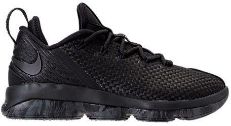 hot sale online 691a8 16836 Nike Men s LeBron XIV Low Basketball Shoes, Black