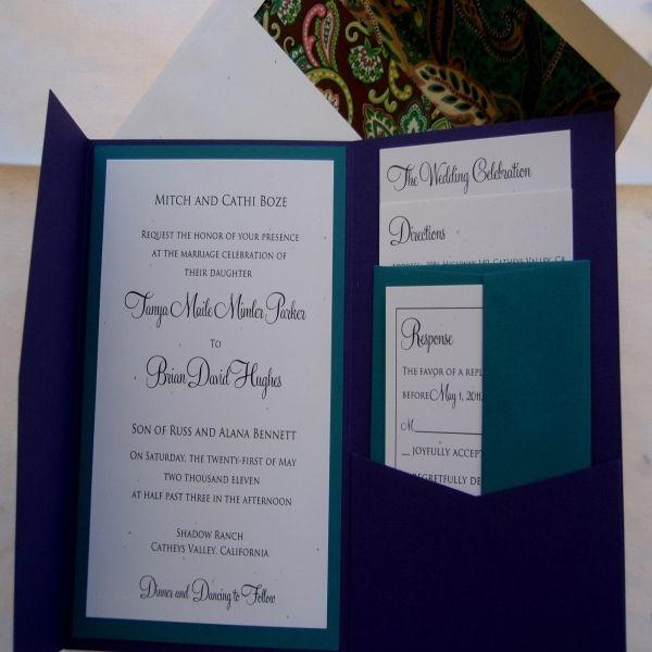 Sale Diy Wedding Invitation Kits With Creativedawnonline Pocketfold Invitations Wholesale Pocket Fold Amazing
