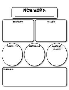 Very very vocabulary learning what words mean marzano for Construction organizer notebook