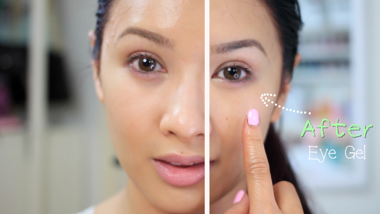 DIY Day and Night Eye Cream for Dark Circles and Puffy