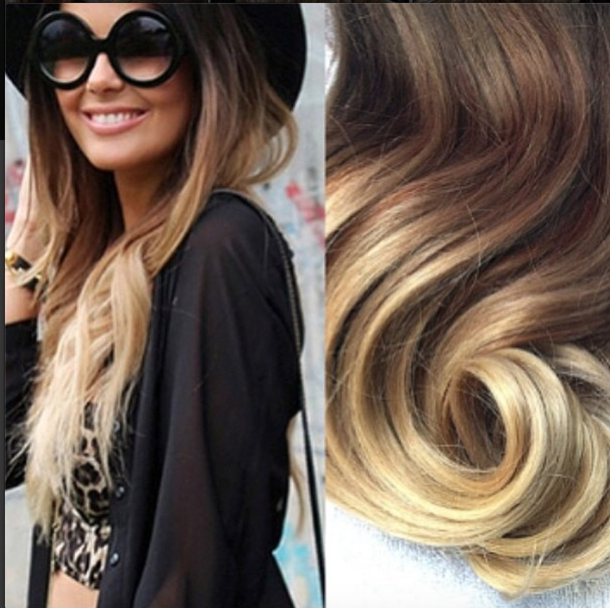 Glam Seamless Ombre Hair Extensions Ombre Inspo Pinterest