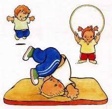 Educacion Fisica Para 1º Y 2º De Primaria Colegio Montserrat De Madrid Ejercicios De Psicomotricidad Ninos Haciendo Ejercicio Educacion Fisica Preescolar