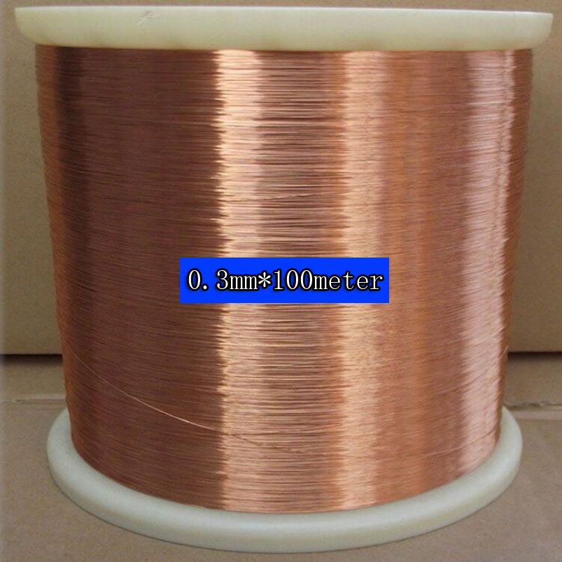 0 3 Mm 100m Pc Qa 1 155 New Polyurethane Enameled Wirecopper Wire Cool Things To Buy Copper Wire Copper