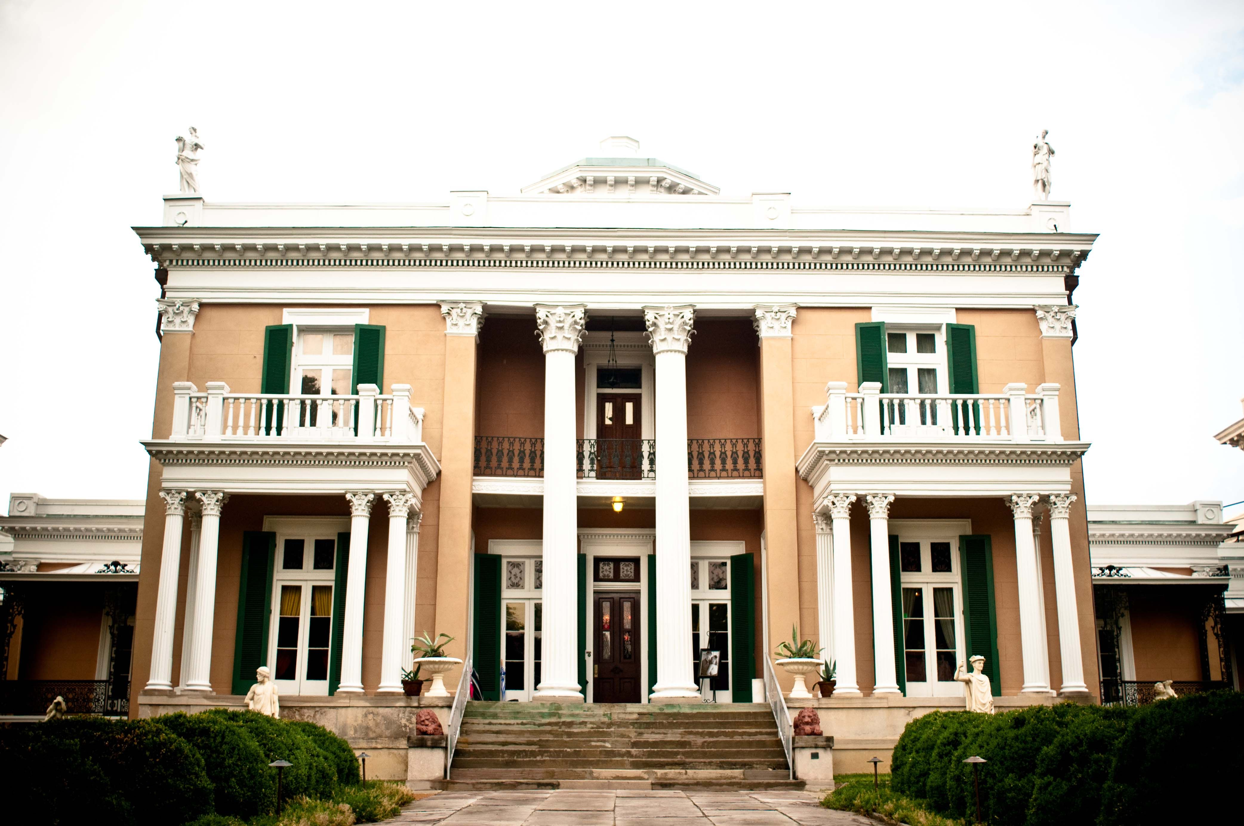 The Belmont Mansion on Tennessee? Where we met. (With