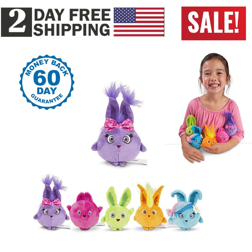 Sunny Bunnies Squad Beanie Plush 5 Pack Toys /& Games