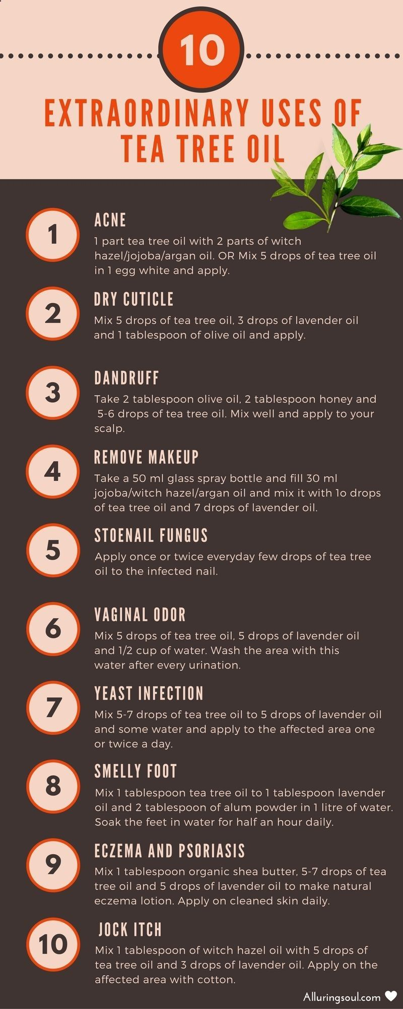 Use Coconut Oil Daily Coconutoil Tea Tree Oil Uses Amazing