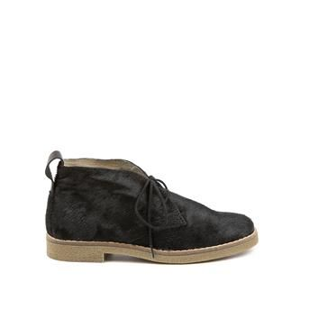 Invito zwarte leren desert boots