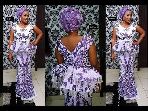 ad822aa29b2b41 Aso Ebi Fashion Styles : Beautiful Latest African Aso ebi styles [2018]