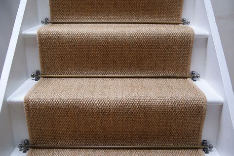 Best Jute Staircase Runner Covers 14 Standard Stairs Bound 640 x 480