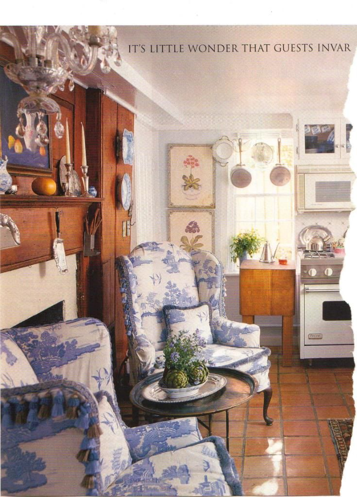 Such a cozy kitchen, but not practical for me Hearth