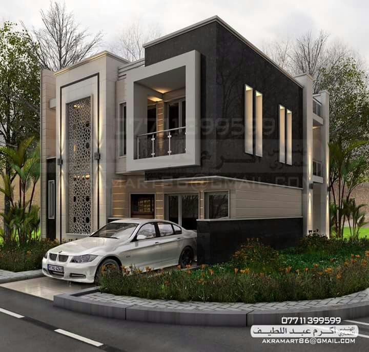 Modern Home Elevation Designs: Pin By William Fon On Architectural Design