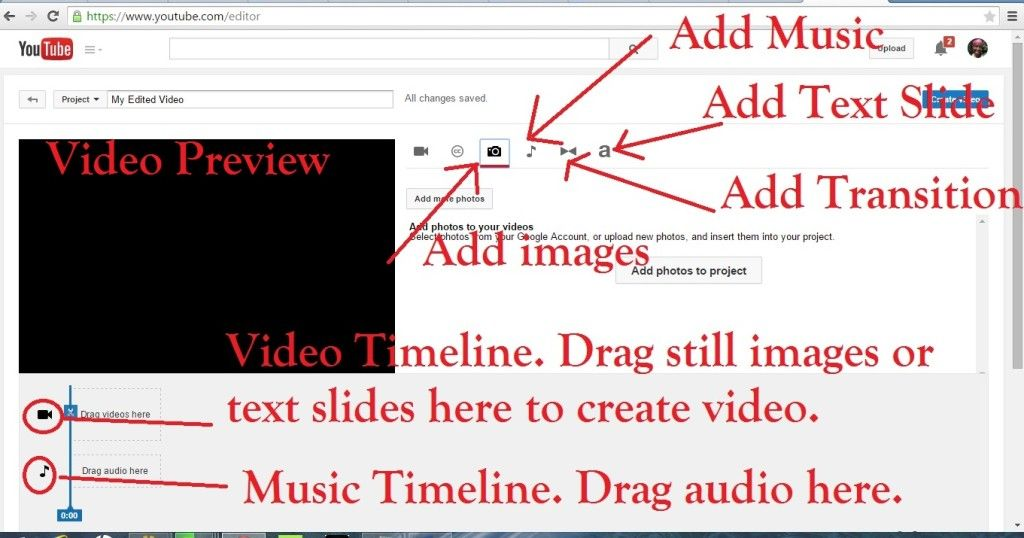 #Authors Can Make #Book Trailers with #YouTube's Free Editor