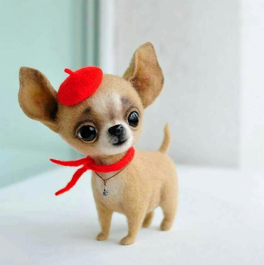 Pin Von Sindi Sommer Auf Peggy Mit Bildern Filz Hunde Nadelfilztiere Niedliche Tierbabys