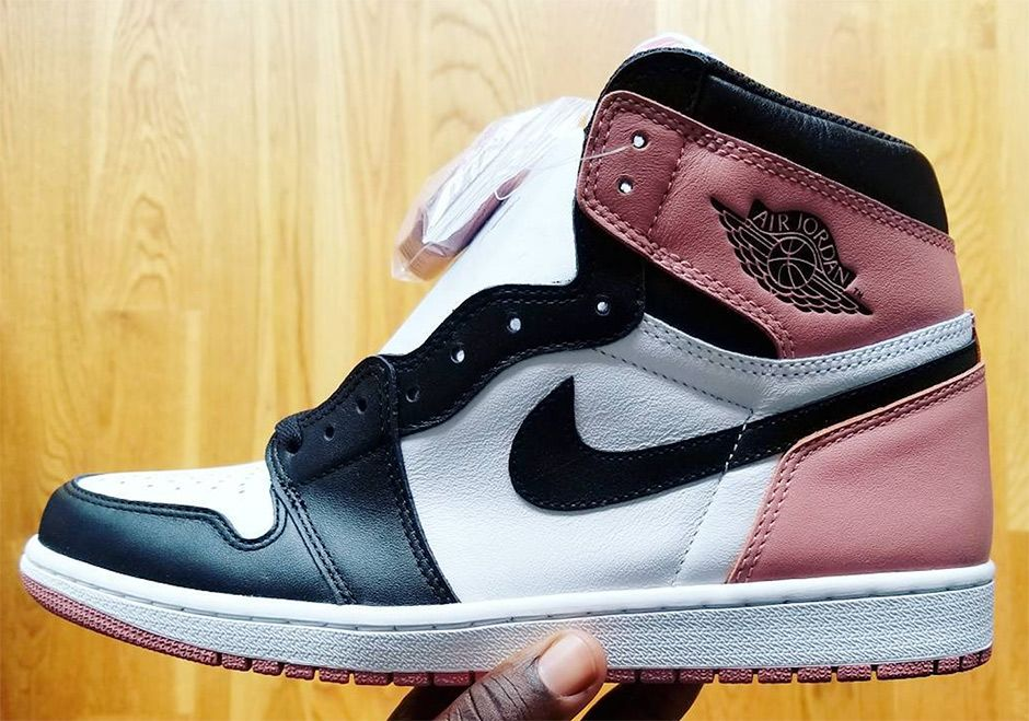 "sneakers  news Air Jordan 1 ""Black Toe"" In Pink Revealed By Nigel Sylvester a14da1c57"