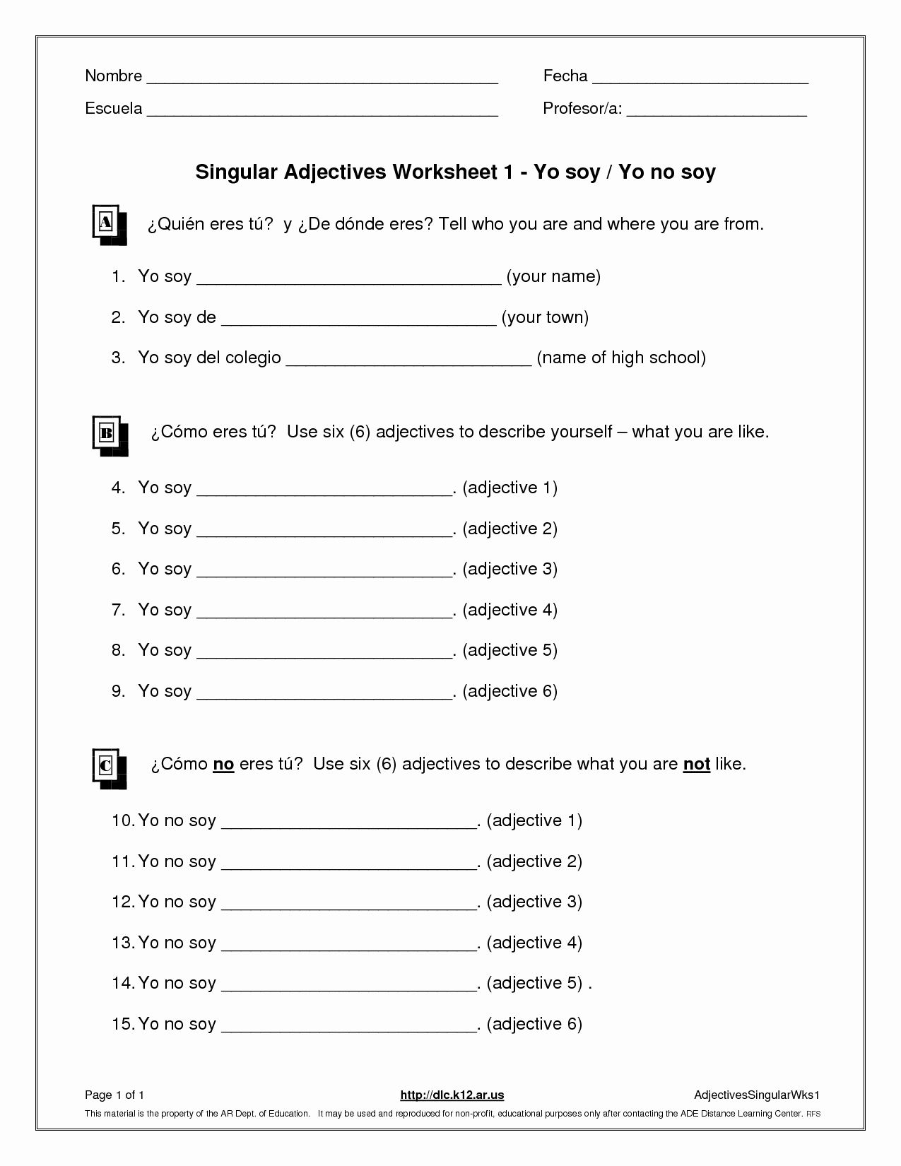 Anger Management Worksheet For Teens New K 12 Student