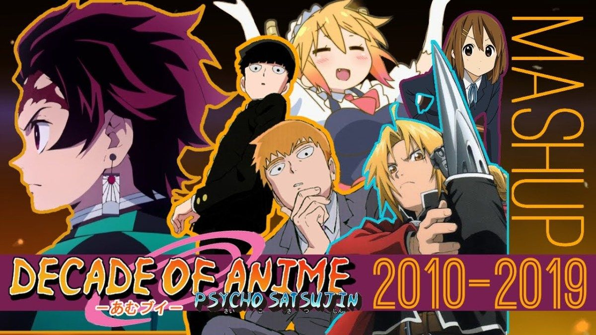 A decade of anime an amazing mashup of the past ten