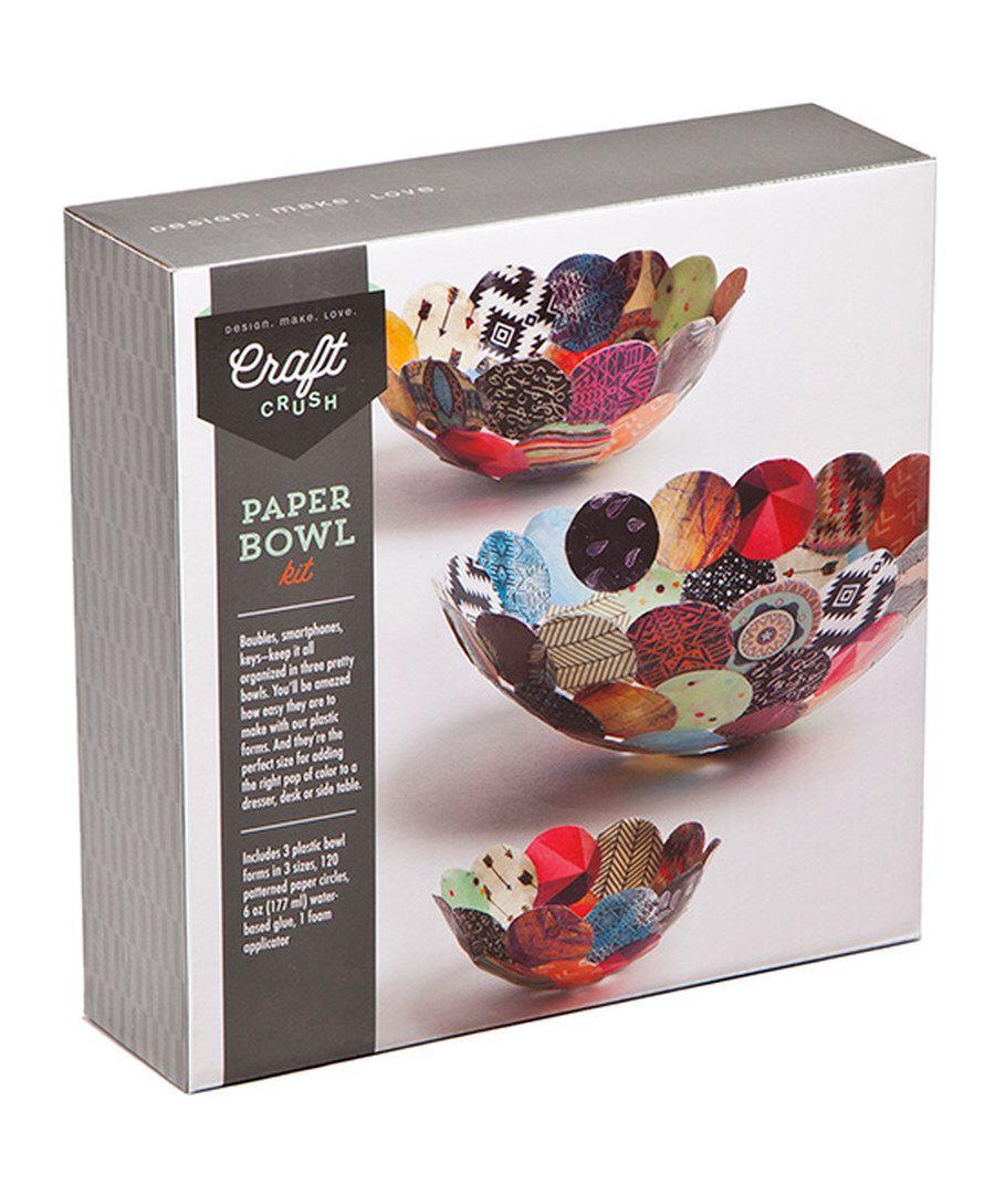 Paper Bowls Craft Kit