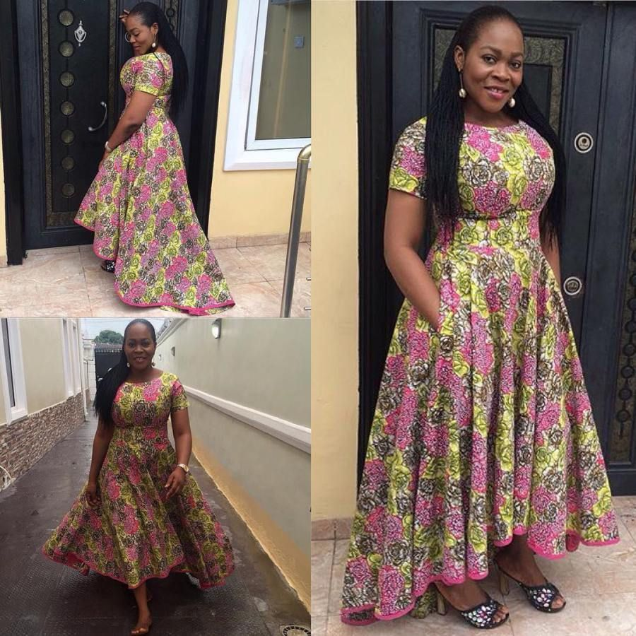 Checkout these breathtaking ankara styles you just canut do away