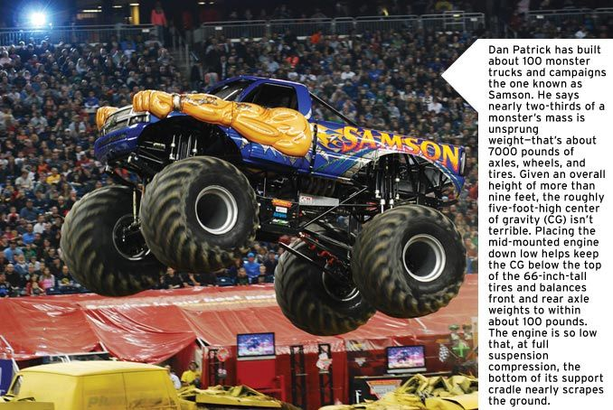 The Physics Of Monster Trucks Feature Car And Driver