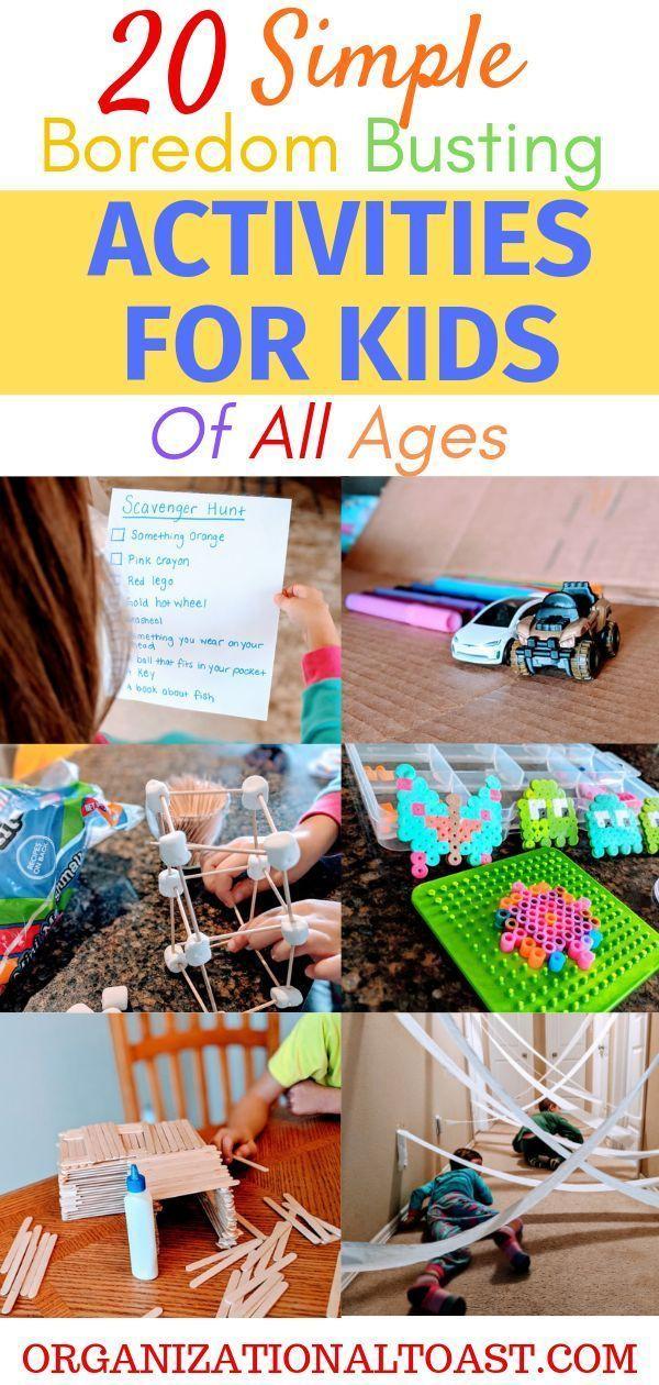 20 Indoor Activities for Kids - Organizational Toast