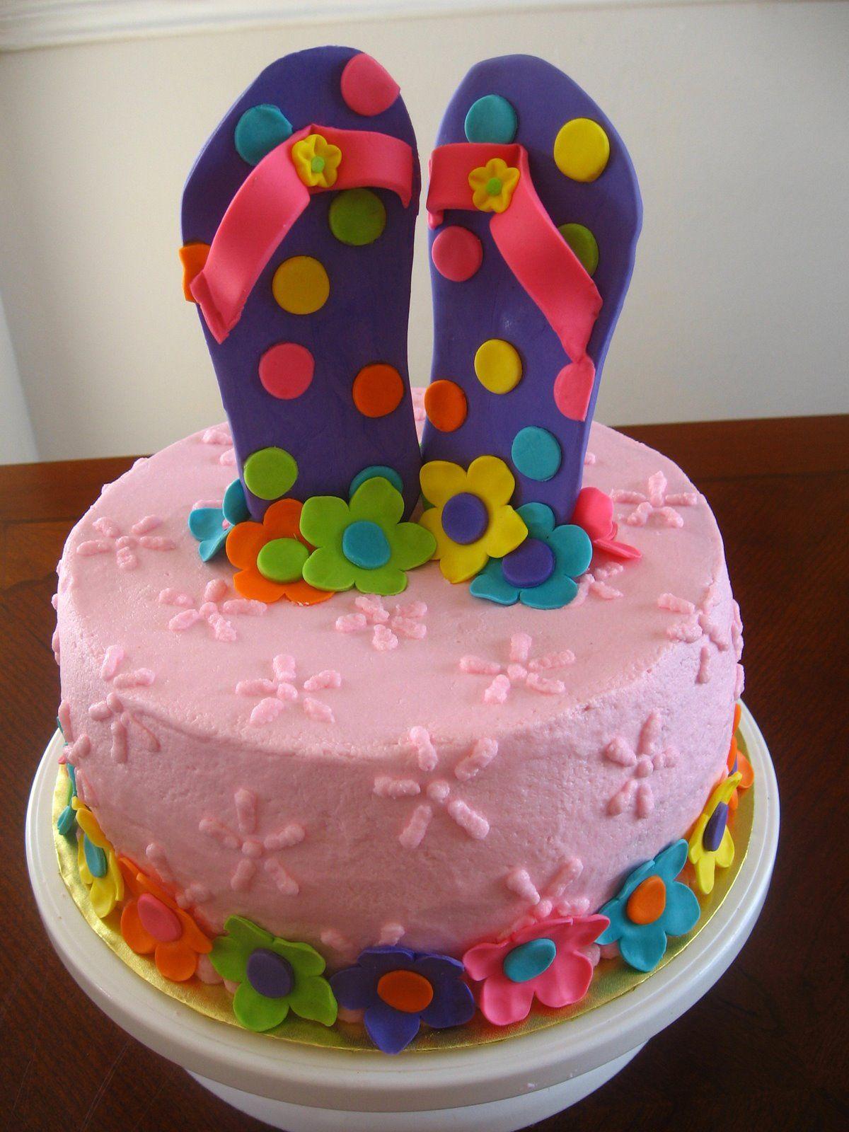 Flip Flop Cake Decorations