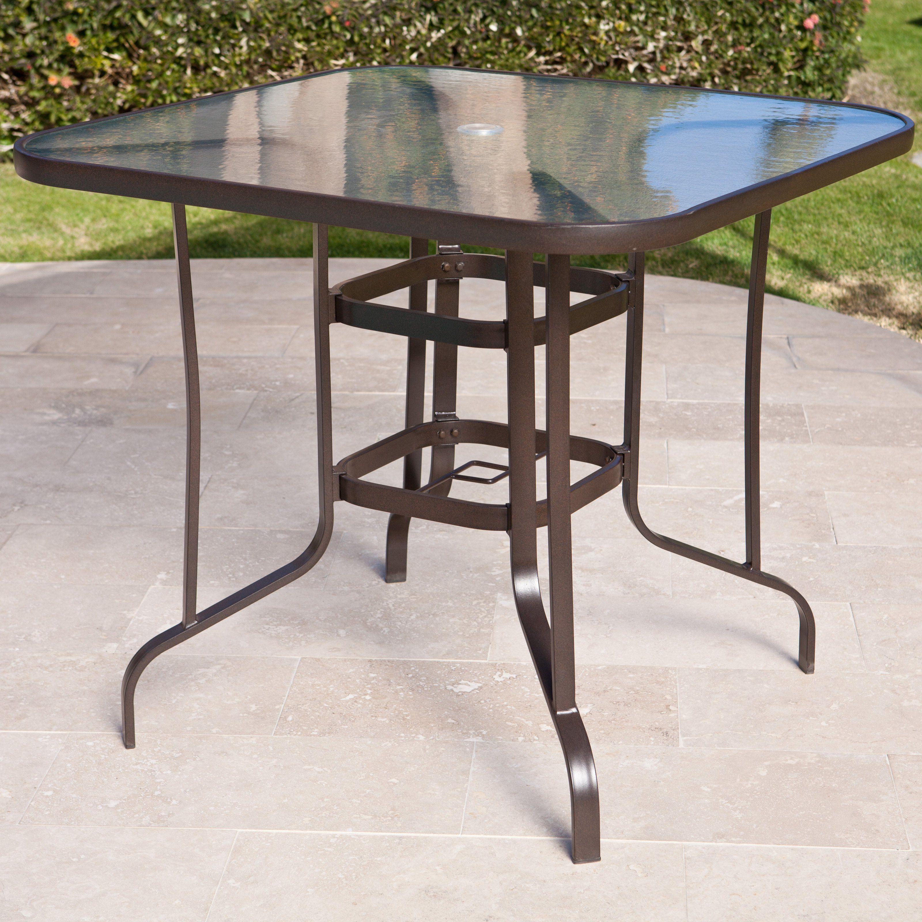 C Coast Del Rey Balcony Height Outdoor Dining Table 219 99