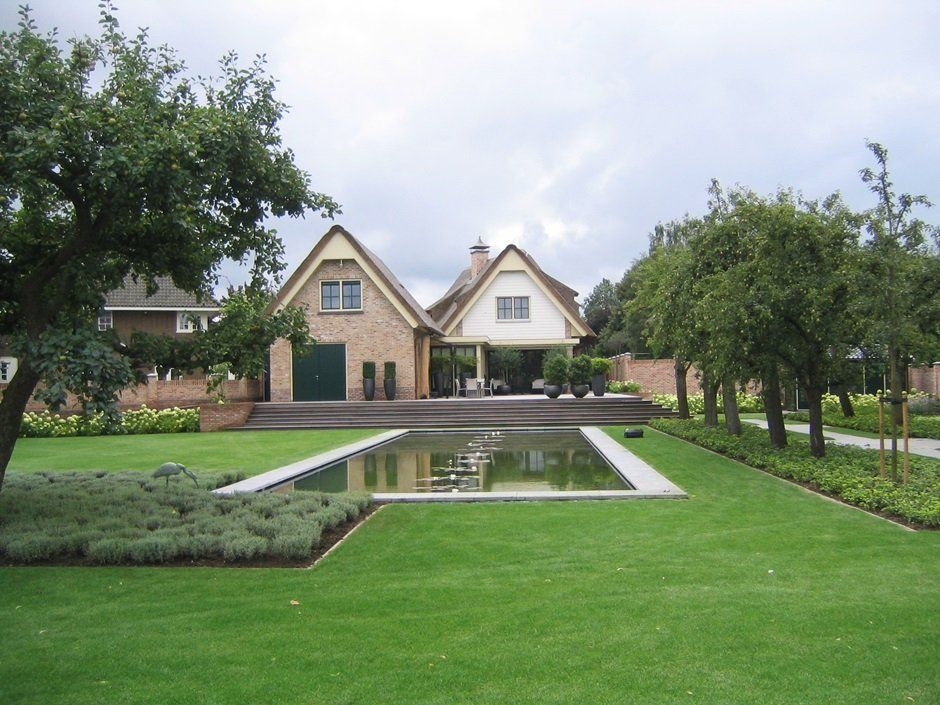 Tuindesigner jaarsveld tuinen exclusieve vijvertuin wasserspiel