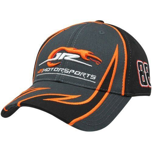 NASCAR Chase Authentics JR Motorsports Fragment Adjustable Hat - Charcoal/Black by Football Fanatics. $24.95. Chase Authentics JR Motorsports Fragment Adjustable Hat - Charcoal/Black100% CottonContrast color accentsSix panels with eyeletsStructured fitAdjustable hook and loop fastener strapImportedOfficially licensed NASCAR productQuality embroidery100% CottonStructured fitAdjustable hook and loop fastener strapQuality embroideryContrast color accentsSix panels with eyeletsImpor...