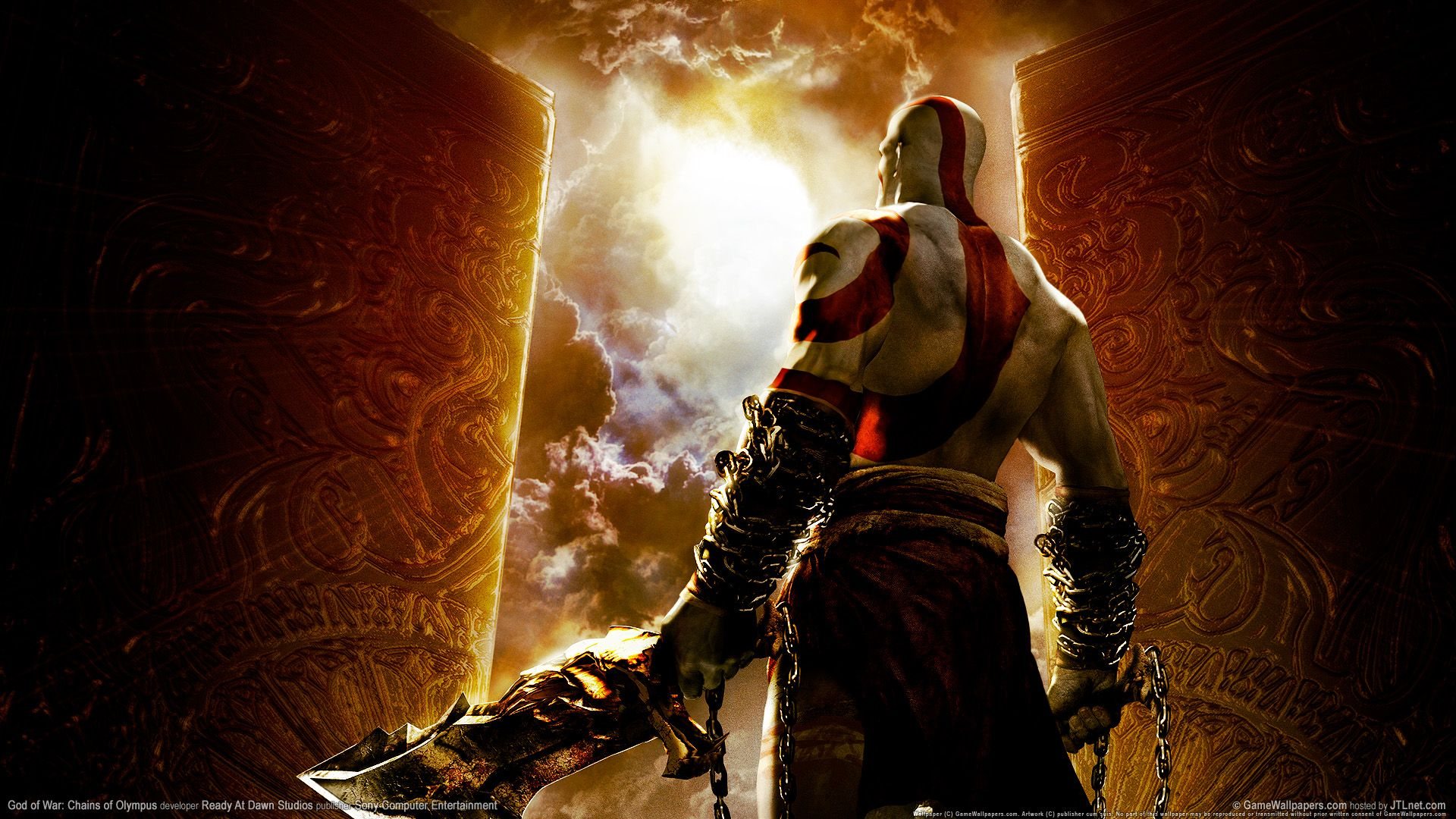 God Of War Chains Of Olympus Wallpapers Kratos God Of War God Of War God Of War Game