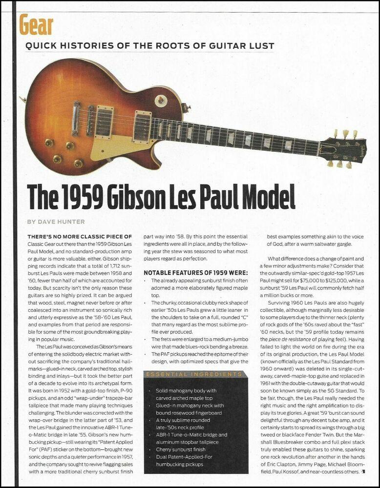 Guitars history profile Guitar Necks