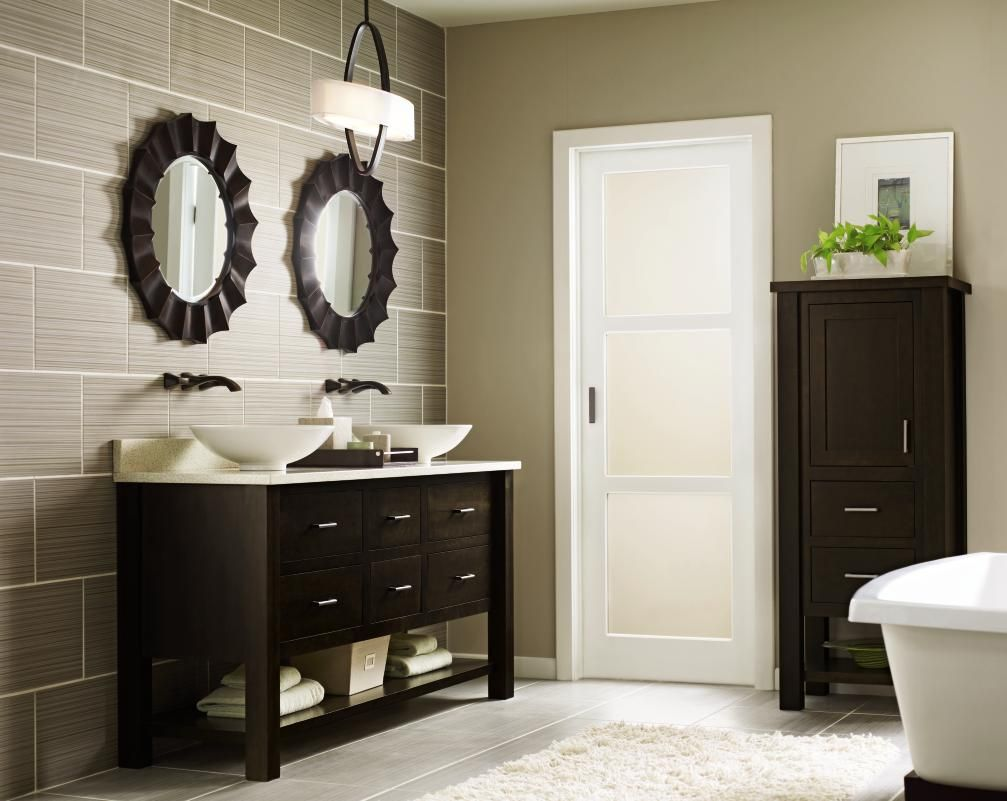 In bath remodels dark wood finishes trend up to while medium