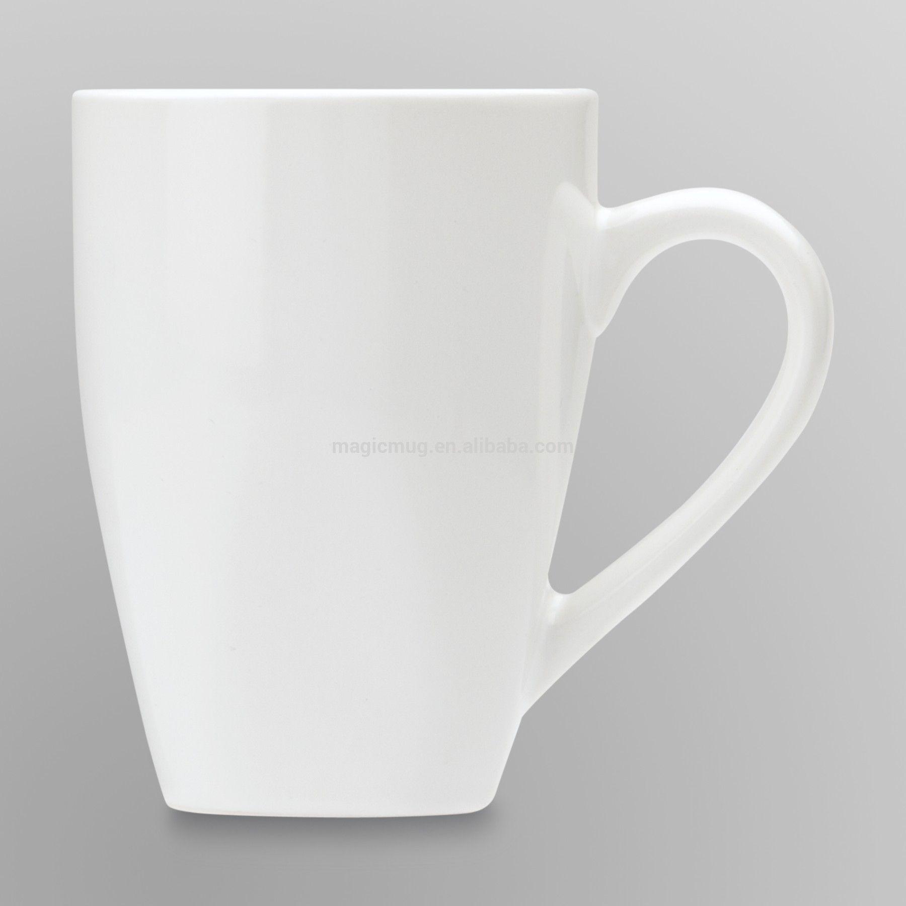 Plain White Coffee Mugs Bulk