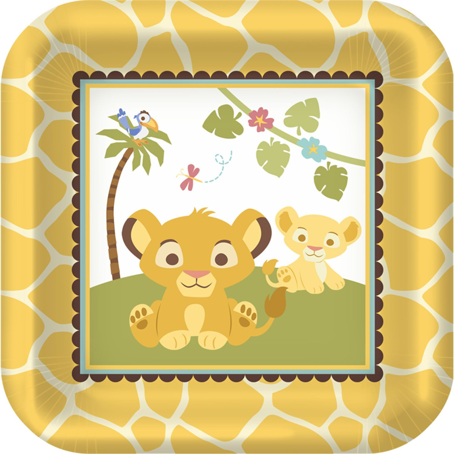 Lion King Baby Shower Decorations | Disney Lion King Baby Shower ...